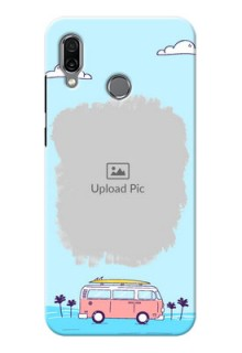 Huawei Honor Play Mobile Covers Online: Travel & Adventure Design