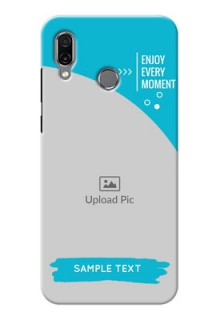 Huawei Honor Play Personalized Phone Covers: Happy Moment Design