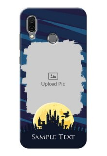 Huawei Honor Play Back Covers: Halloween Witch Design