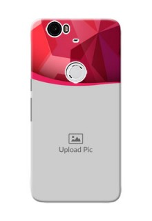 Huawei Nexus 6P Red Abstract Mobile Case Design