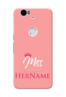 Nexus 6P Custom Phone Case Mrs with Name