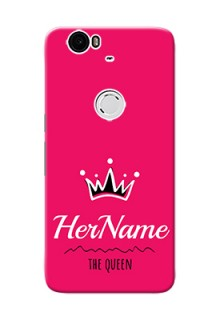 Nexus 6P Queen Phone Case with Name