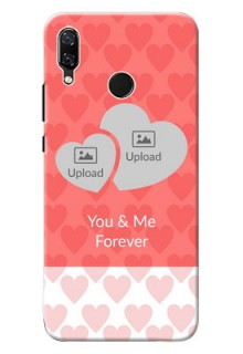 Huawei Nova 3 Couples Picture Upload Mobile Cover Design