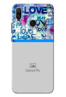 Huawei Nova 3 Colourful Love Patterns Mobile Case Design