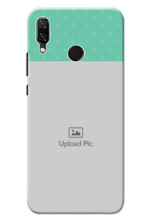 Huawei Nova 3 Lovers Picture Upload Mobile Cover Design