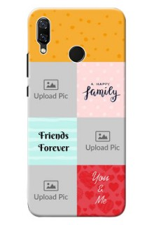 Huawei Nova 3 4 image holder with multiple quotations Design