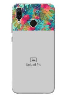 Huawei Nova 3 colourful watercolour floral Design