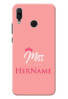 Nova 3 Custom Phone Case Mrs with Name