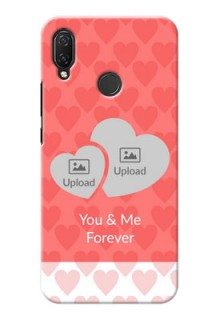 Huawei Nova 3i personalized phone covers: Couple Pic Upload Design