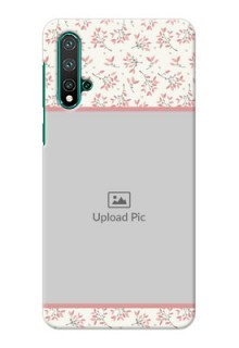 Huawei Nova 5 Pro Back Covers: Premium Floral Design
