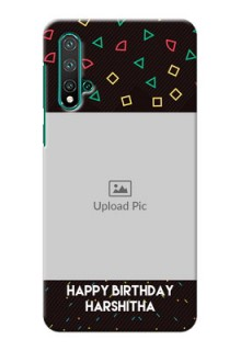 Huawei Nova 5 Pro custom mobile cases with confetti birthday design