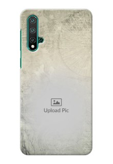 Huawei Nova 5 Pro custom mobile back covers with vintage design