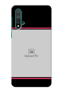 Huawei Nova 5 Mobile Covers With Add Text Design