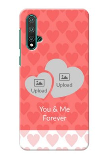 Huawei Nova 5 personalized phone covers: Couple Pic Upload Design
