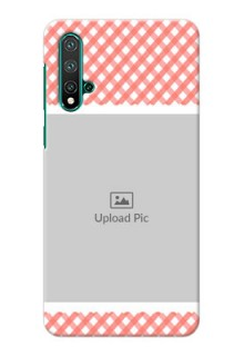 Huawei Nova 5 custom mobile cases: Pink Pattern Design