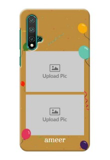 Huawei Nova 5 Phone Covers: Image Holder with Birthday Celebrations Design