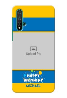 Huawei Nova 5 Mobile Back Covers Online: Birthday Wishes Design