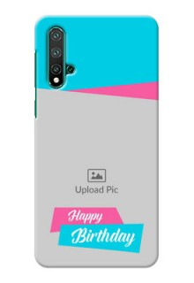 Huawei Nova 5 Mobile Covers: Image Holder with 2 Color Design