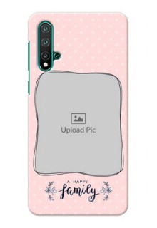 Huawei Nova 5 Personalized Phone Cases: Family with Dots Design