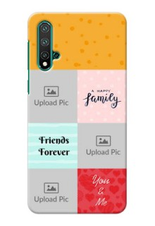 Huawei Nova 5 Customized Phone Cases: Images with Quotes Design