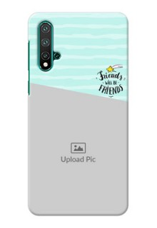 Huawei Nova 5 Mobile Back Covers: Friends Picture Icon Design