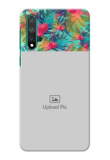 Huawei Nova 5 Personalized Phone Cases: Watercolor Floral Design