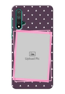 Huawei Nova 5 Phone Cases: Triangle Pattern Dotted Design