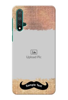 Huawei Nova 5 Mobile Back Covers Online with Texture Design