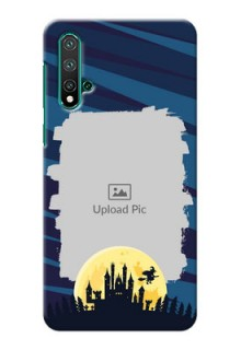 Huawei Nova 5 Back Covers: Halloween Witch Design