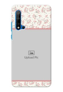 Huawei Nova 5i Back Covers: Premium Floral Design