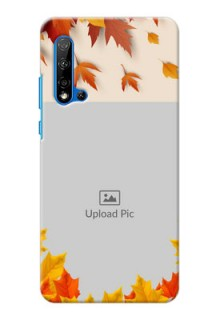 Huawei Nova 5i Mobile Phone Cases: Autumn Maple Leaves Design