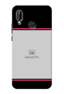 Huawei P20 Lite Photo With Text Mobile Case Design