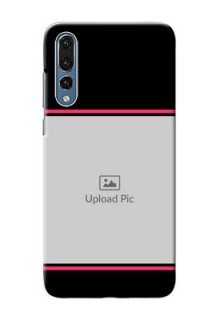 Huawei P20 Pro Photo With Text Mobile Case Design