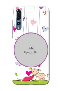 Huawei P20 Pro Cute Babies Mobile Cover  Design