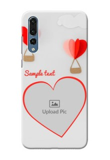 Huawei P20 Pro Love Abstract Mobile Case Design