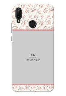 Huawei Y9 (2019) Back Covers: Premium Floral Design