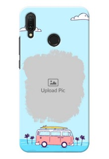 Huawei Y9 (2019) Mobile Covers Online: Travel & Adventure Design