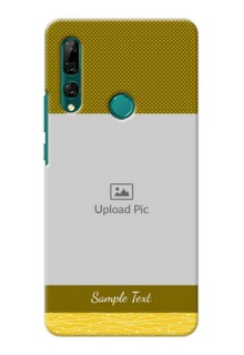 Huawei Y9 Prime 2019 custom mobile back covers: Simple Green Color Design