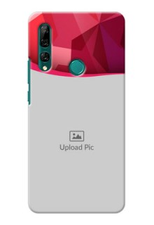Huawei Y9 Prime 2019 custom mobile back covers: Red Abstract Design