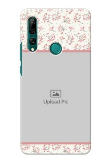 Huawei Y9 Prime 2019 Back Covers: Premium Floral Design