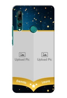 Huawei Y9 Prime 2019 Mobile Covers Online: Galaxy Stars Backdrop Design