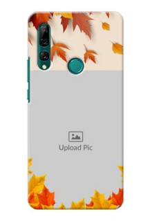 Huawei Y9 Prime 2019 Mobile Phone Cases: Autumn Maple Leaves Design