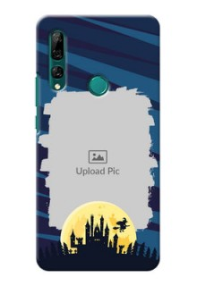 Huawei Y9 Prime 2019 Back Covers: Halloween Witch Design