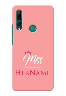 Y9 Prime 2019 Custom Phone Case Mrs with Name