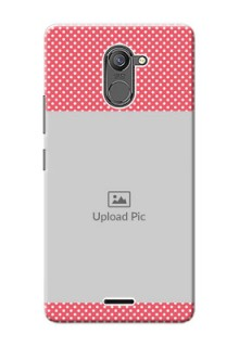 Infinix Hot 4 Pro White Dots Mobile Case  Design