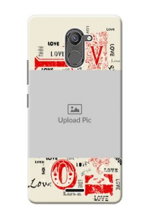 Infinix Hot 4 Pro Lovers Picture Upload Mobile Case Design