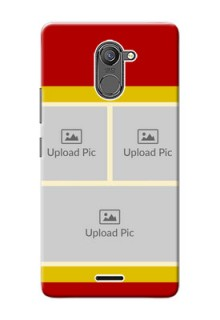 Infinix Hot 4 Pro Multiple Picture Upload Mobile Cover Design