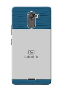 Infinix Hot 4 Pro Blue Pattern Mobile Case Design