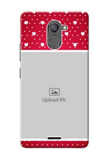 Infinix Hot 4 Pro Beautiful Hearts Mobile Case Design
