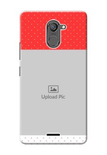 Infinix Hot 4 Pro Red Pattern Mobile Case Design